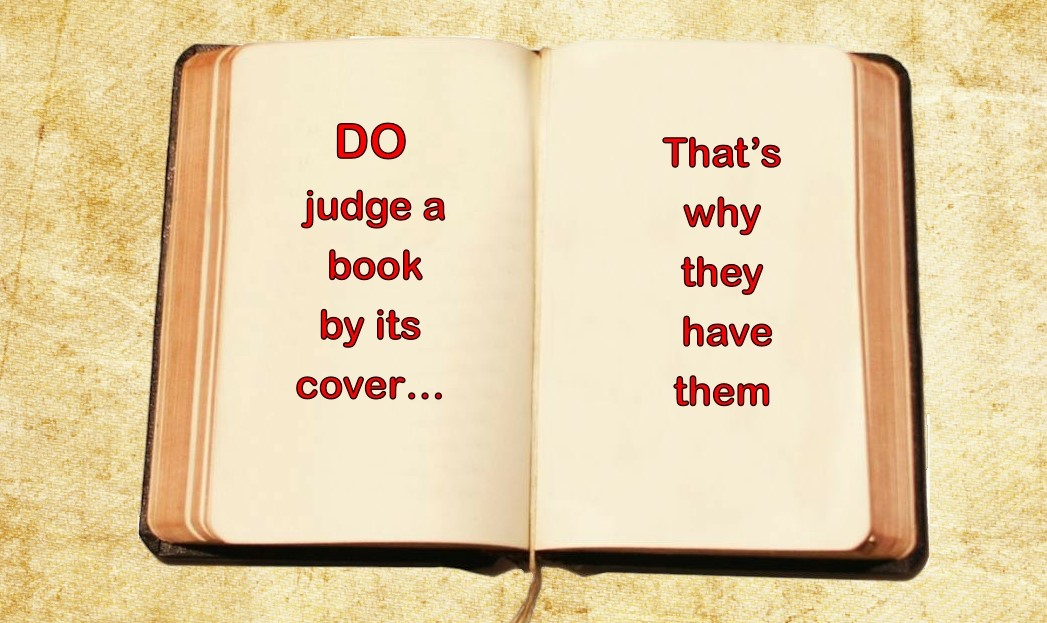 Turns Out a Book is Judged by Its Cover